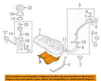 Genuine Hyundai 31221-1E000 Fuel Tank Protector