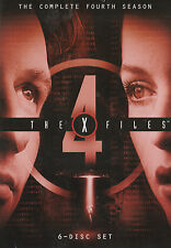 The X-FILES SEASON 4 NEW but UNSEALED 6-Disc Set Region 1