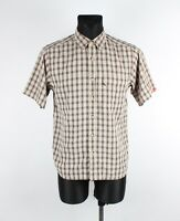 The North Face Manica Corta Uomo Camicia TAGLIA S, Originale