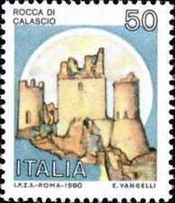 ITALIA 1980 CASTELLI ROCCA DI CALASCIO 1980 L. 50** AIV