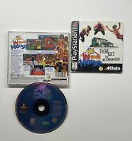 WWF: In Your House (Sony PlayStation 1, 1996) PS1 Black Label Complete!!
