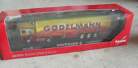 Herpa Exclusive HO 1:87 Scale Scania Godelmann Ants Tractor Trailer Truck NIB