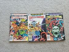 Contest of Champions #1 2 3 Marvel Comic Book Lot