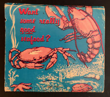 Vintage Christie's NYC Seafood Restaurant Nautical Matchbook Used