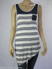 Crossroads Tunic Striped Sleeveless Tops & Blouses for Women