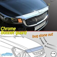 Bonnet Hood Guard Chrome Front Garnish Deflector 1Pcs for KIA Sedona 2016 ~ 2017