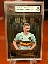 2016-17 Panini Select Soccer Kevin De Bruyne Base # 59 Belgium KSA 9 Mint
