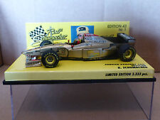 Minichamps 1:43 ralf schumacher jordan 196 testcar estoril F1 1996