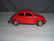 METOSUL PORTUGAL VW VOLKSWAGEN BEETLE 1200 RED IN USED VINTAGE C PICS