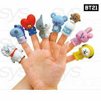 BTS BT21 Official Authentic Goods Mascot Figure Puppet 8SET + Tracking Number