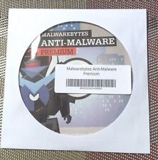 Malwarebytes Anti-Malware Premium v3.2.2 (1 PC- 1 year) - Brand New CD