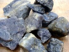 IOLITE Rough Rock - 2 1/2 LB Lot - Tumbling Rough, Wire Wrapping - FREE SHIPPING