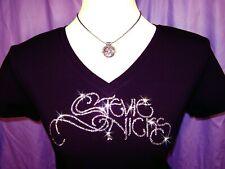 Bling Stevie Nicks Swarovski Rhinestone Concert Shirt Brand New