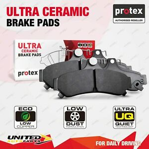 4pcs Protex Front Ultra Ceramic Brake Pads for Saab 9-3 1.9L 2.0L 2.8L V6 Turbo