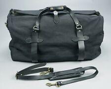 Filson Rugged Twill Duffle Duffel Bag • Black • EXCELLENT