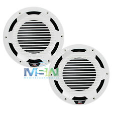 "(2) MTX WET104-W 10"" SINGLE 4-OHM MARINE BOAT AUDIO SUBWOOFERS SUBS WHITE *PAIR*"