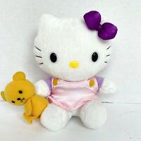 VTG 1976, 2002 Sanrio Co LTD. Hello Kitty Cute & Sweet Nakajima Plush w/ Bear
