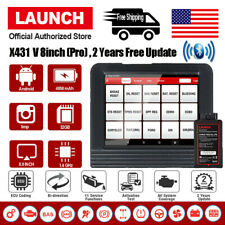 LAUNCH X431 V+ V PRO OBD2 Scanner Automotive Bidirectional Key Coding Scan Tool