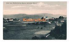 Erster Weltkrieg (1914-18) Lithographie mit Dom & Kirche für Architektur/Bauwerk
