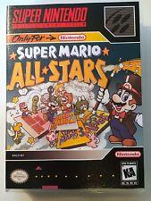 Super Mario All-Stars - Super Nintendo - Replacement Case - No Game