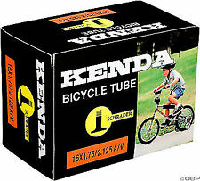 "One Pair of 16/""x1-3//8/"" XLC Bicycle Tubes 35mm Schrader Valve Bike Tube New Q"