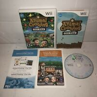 VGC Animal Crossing: City Folk Nintendo Wii Game Complete TESTED Case & Manual