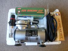 Intertek Aerografía Kit-completa (compresor, mangueras, Aerógrafos)