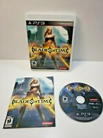 Blades Of Time (PlayStation 3, 2012) Mint Disc With Manual TESTED