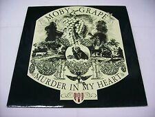 MOBY GRAPE - MURDER IN MY HEART - REISSUE LP VINYL 1986