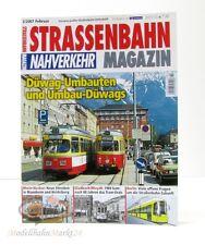 STRASSENBAHN MAGAZIN Nahverkehr 2/2007 Februar Düwag-Umbauten GeraMond