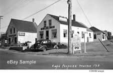 1930's Cape Porpoise Maine Cape Grill Restaurant Moxie