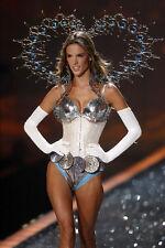 Sexy Photo 8.25x11.75 Alessandra Ambrosio Top Model in Victoria Secret Show #020