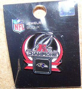 2013 Super Bowl 47 XLVII Baltimore Ravens AFC Champions pin superbowl SB