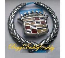 NEW! Cadillac DHS 2000 2001! WREATH & CREST GRILLE EMBLEM!
