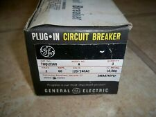 New ListingGe Thql 2160 Circuit Breaker - 60 Amp - 2 Poles - New/Old Stock - 3 Pack !