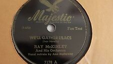 Ray McKinley  – 78rpm 10-inch single – Majestic #7178