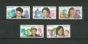 USED  # 2773 -  2777  GREAT CANADIAN COMEDIANS