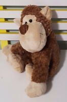 CUDDLES COLLECTION MONKEY PLUSH TOY! LOVELY SOFT TOY ABOUT 31CM SEATED KIDS TOY