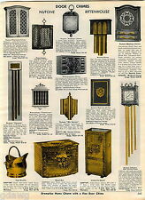 1969 ADVERTISEMENT Door Chimes Nutone Rittenhouse Coronet Riviera Madison Clock