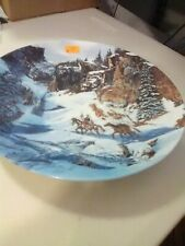 """W S George Collector Plate - """"Trail of the Talismans"""" 1992"""