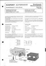 Blaupunkt Service Manual für Zweikanal-Busverstärker 7607351  7 607 351.