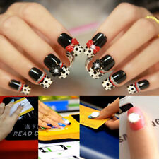 2X Flash Decals Fashion LED Nail Art DIY Lighting Nail Decals NFC Chip Stickers