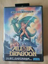 Sega mega drive Alisia Dragoon