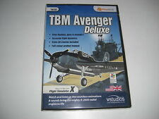 TBM AVENGER DELUXE Pc Cd Rom Add-On Flight Simulator Sim X FSX - NEW & SEALED