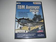 TBM Avenger Deluxe PC CD ROM add-on Simulatore di volo SIM X FSX-NUOVO e SIGILLATO