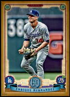 Enrique Hernandez 2019 Topps Gypsy Queen 5x7 Gold #278 /10 Dodgers