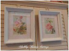 Shabby chic vintage rose prints cottage romantic