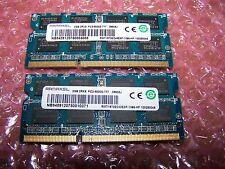 4GB RAMAXEL DDR3 PC3-8500S 1066MHz Laptop RAM (2x  2GB pair)