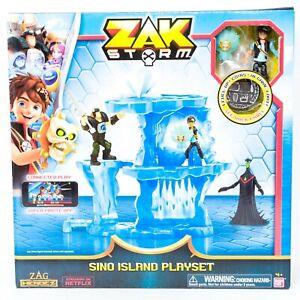 Zak Storm Sino Island Playset New Level Up Coins Action Figure Hidden Trap