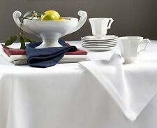 "Sferra Squire White (SET/12) Dinner Napkins Diamond Pique Jacquard Weave 22"" New"